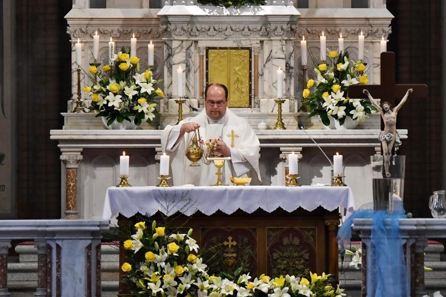 Daniel Vícha, děkan Římskokatolické farnosti Místek. Zdroj: Farnost Kravaře